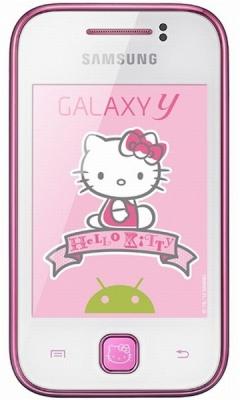 Samsung S5360 Galaxy с приставкой Y Hello Kitty ничего хорошего