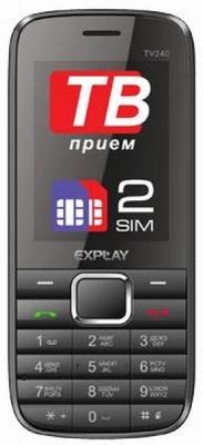 Телефон Explay TV240 - приятный вид за скромную цену.