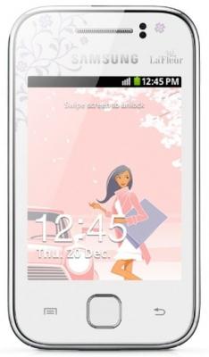 Samsung S5360 Galaxy с приставкой Y La Fleur умственно отсталый телефон