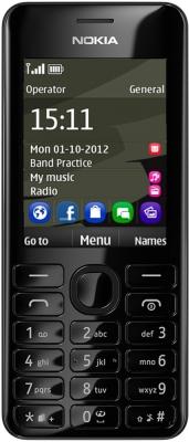 Обзор Nokia 206 - простой телефон с большими кнопками.