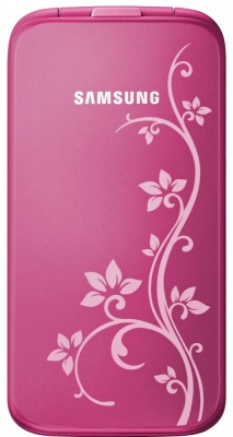 Телефон раскладушка Samsung C3520 La Fleur для девушек