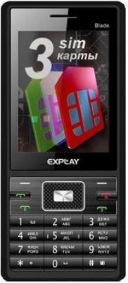 Телефон Explay Blade - 3 сим карты, кто больше?