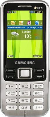 Samsung C3322 удобный моноблок с двумя сим картами.