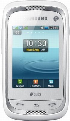 Сенсорный телефон Samsung C3262 кошачий лоток или Nokia Asha