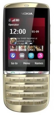 Телефон Asha 300 от Nokia - желающим сходить в сервисный центр.