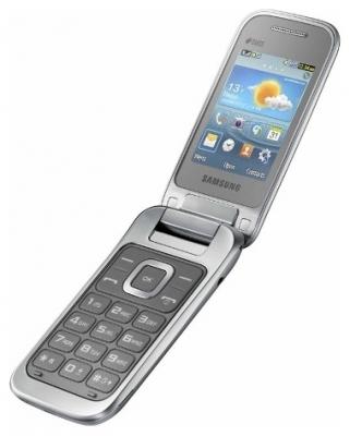Телефон Samsung C3592 еще одна раскладушка от корейцев.