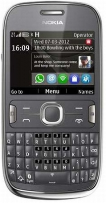 Asha 302 - QWERTY телефон от Nokia