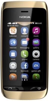 Телефон Nokia Asha 308 на базе старой доброй s40