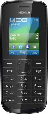 Nokia 109 - бюджетиник из матового пластика