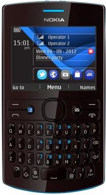 Nokia Asha 205 широкий Qwerty телефон, не смартфон