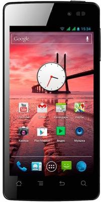 Highscreen Omega Q средний отечественный смартфон с 4 ядрами