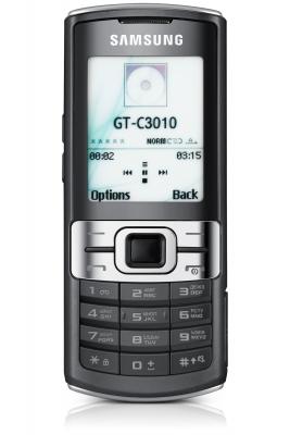 Телефон Samsung C3011 - бюджетник со строгим дизайном