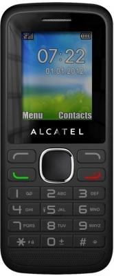 ALCATEL 1051D - лучший дешевый телефон с 2 сим картами.