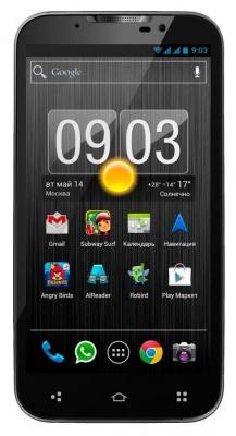 Highscreen Alpha GTX - высокое качество связи.