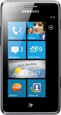 Телефон Samsung S7530 на Windows Phone