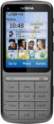 Nokia C3-01 Touch and Type техничексие характеристики