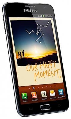 Смартфон Samsung Galaxy Note GT-N7000 с большим экраном по приемлемой цене
